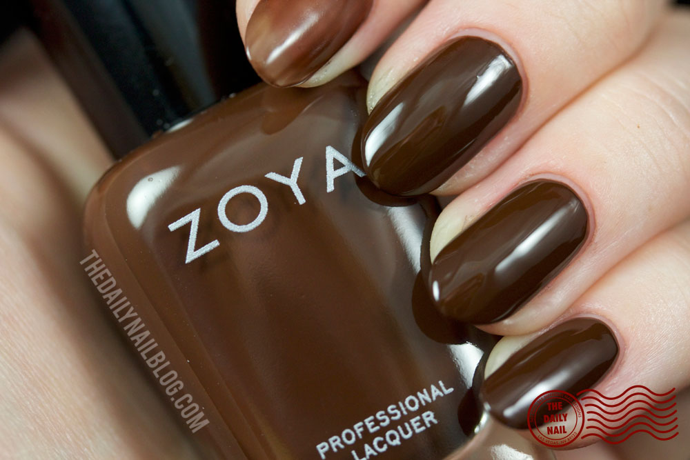 Zoya Cashmere Louise Swatch Fall 2013 with bottle