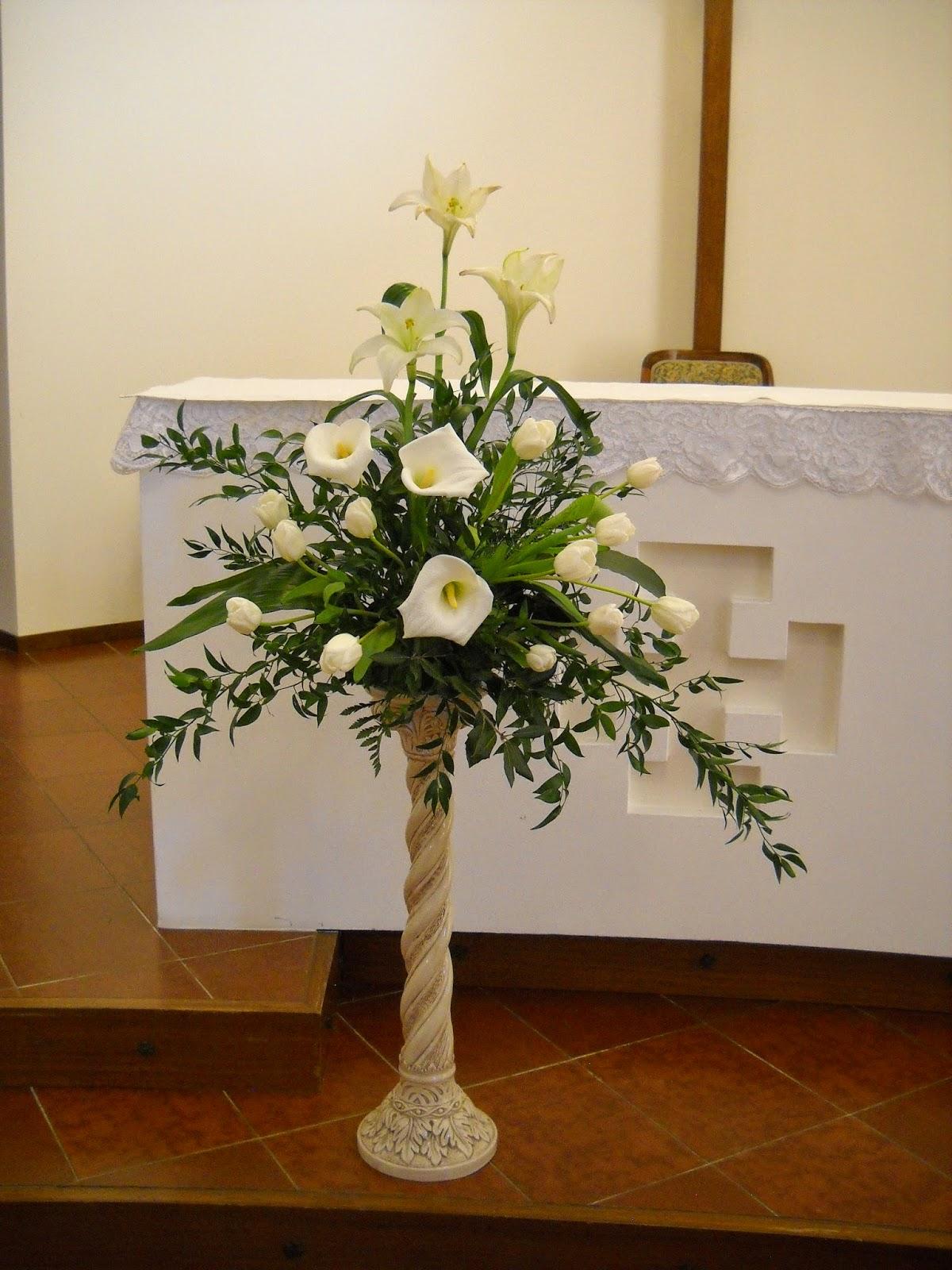 arte floreale per la liturgia settimana santa