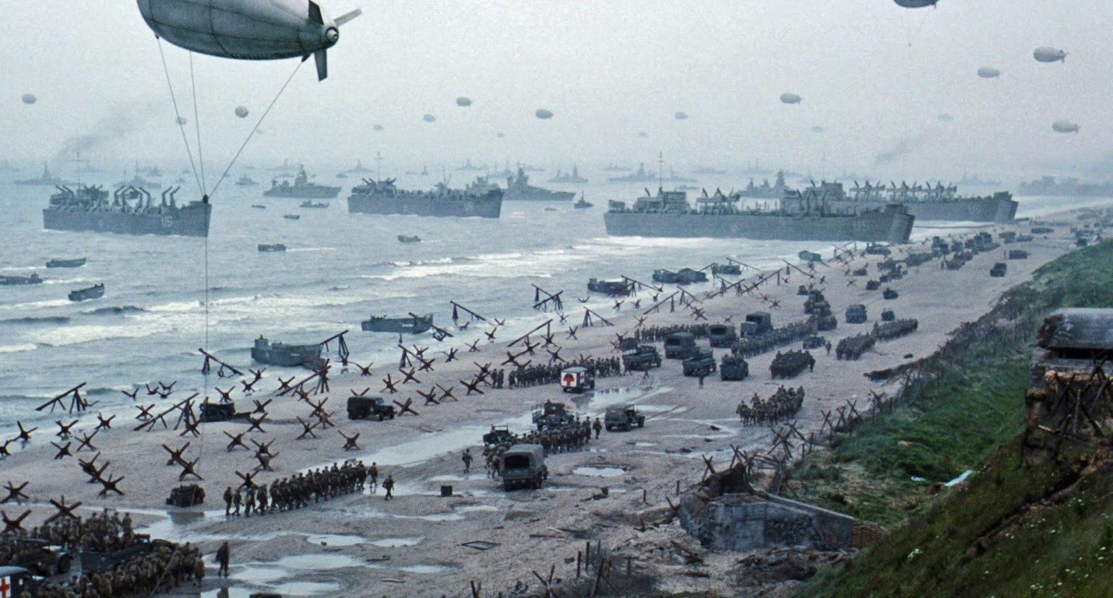 D Day In Color History in Photos: Jan...