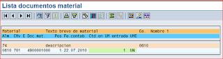 MB51 listado de movimientos SAP