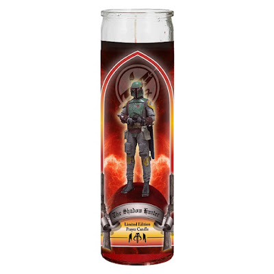 "Star Wars ""The Shadow Hunter"" Boba Fett Prayer Candle by Sket One"