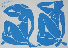 Nu bleu d'après Matisse - Jicé