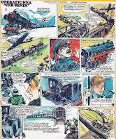 bd benzi desenate desene revista cutezatorii operatiunea cer senin sandu alexandru pui manu razboi nemti 1944 comics romania