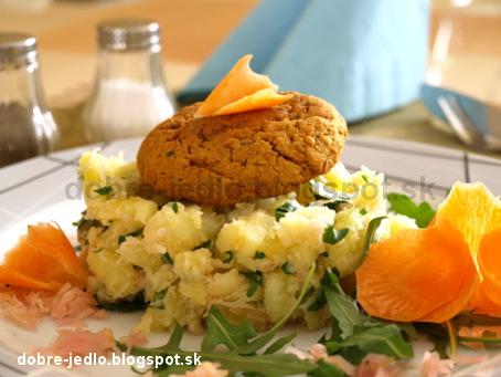 Cícerové fašírky s kapustovými zemiakmi - recepty