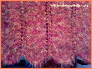 Loom Knit: Finish Cast on edge of scarf or panel - YouTube
