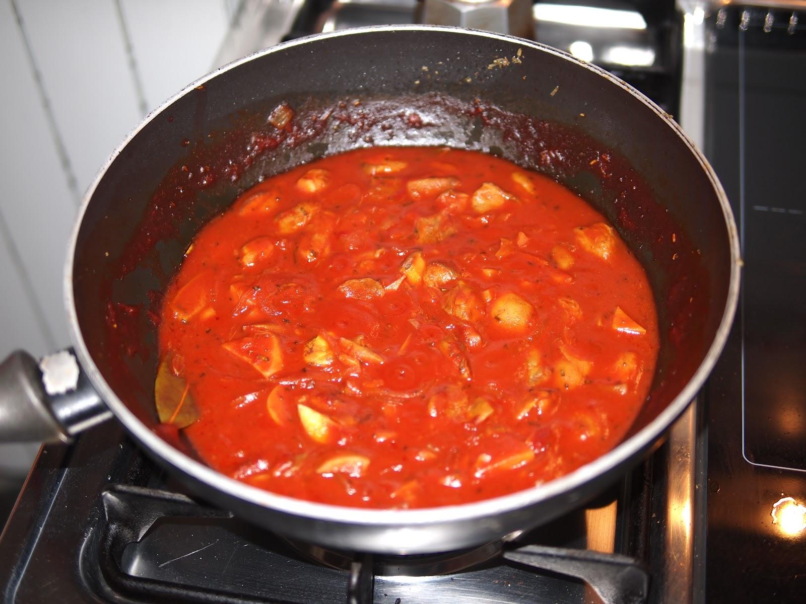 ... Il mio sugo ai funghi - My mushroom sauce - Mon sauce champignon
