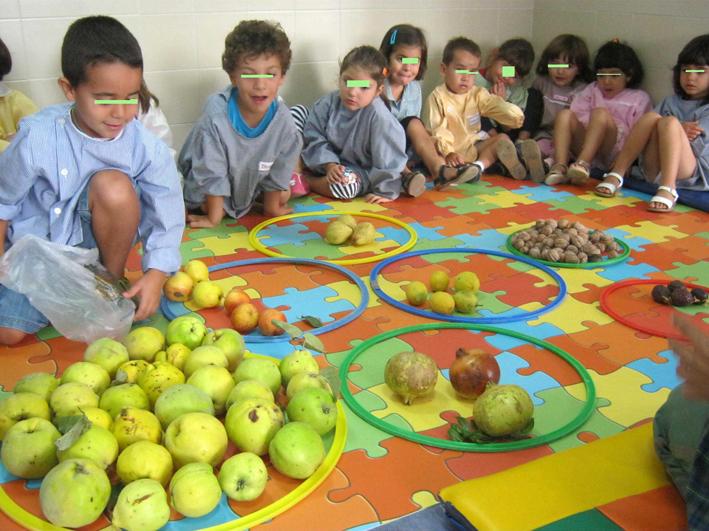 ideias para o outono jardim de infancia : ideias para o outono jardim de infancia:Jardim de Infância de Achete: O outono e os frutos