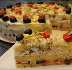 Receta de cocina :pastel de verano