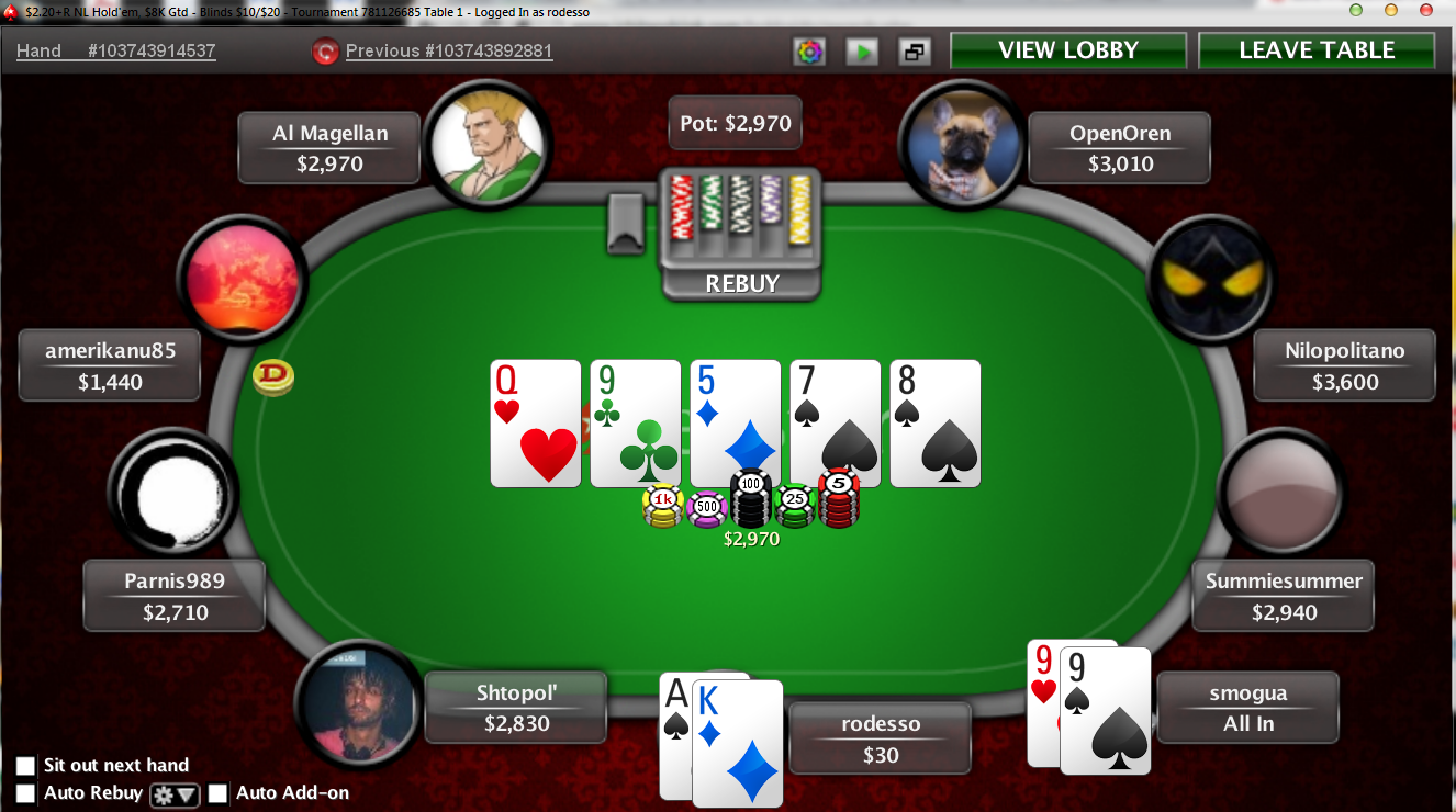 pokerstars scam