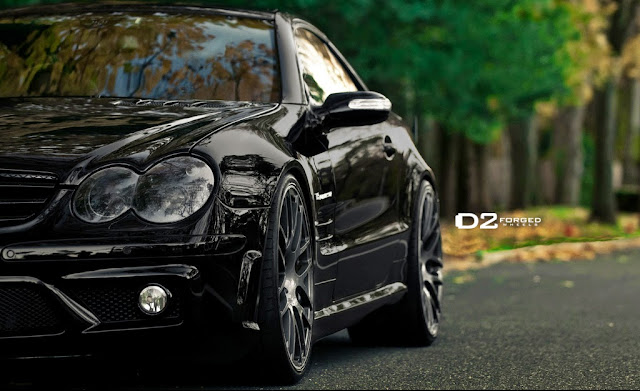 mercedes all black
