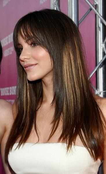 Coupe de cheveux long originale femme
