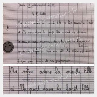 rééducation écriture dysgraphie