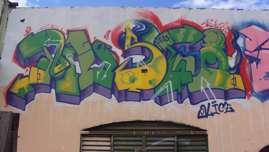 Graffiti musgo one ceu crew