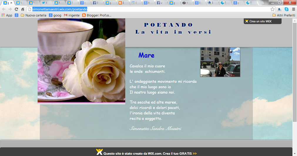 Mio sito di Poesia