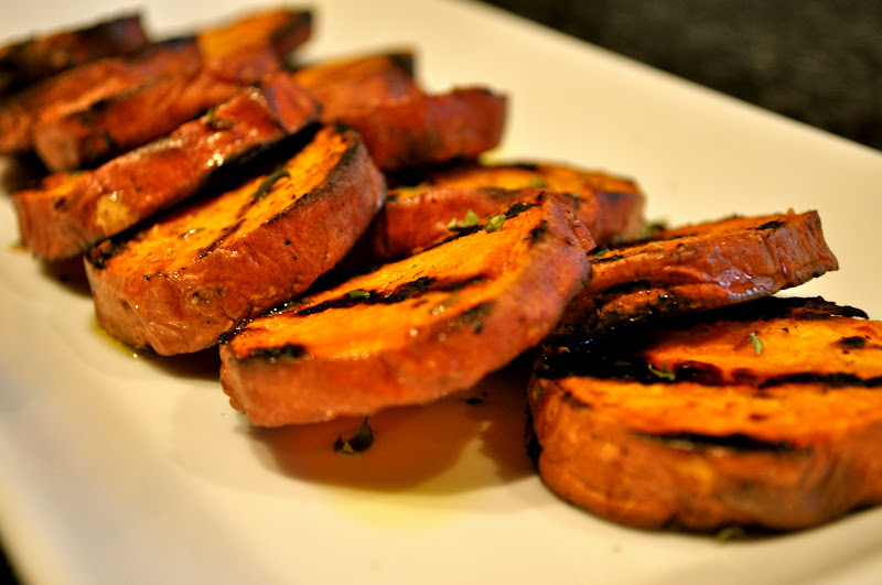 One Classy Dish: Grilled Sweet Potatoes