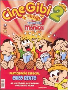 Filme A Turma Da Mônica Cine Gibi Vol. 2 Nacional AVI DVDRip