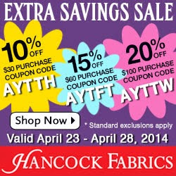 Hancock Fabric Coupons