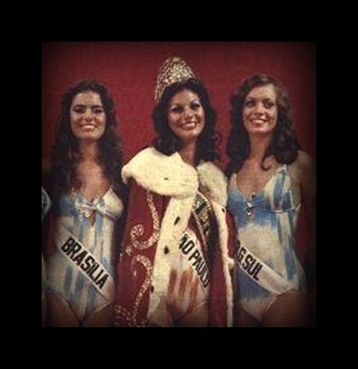 1977 - Top Tres Miss Universo Brasil 1977