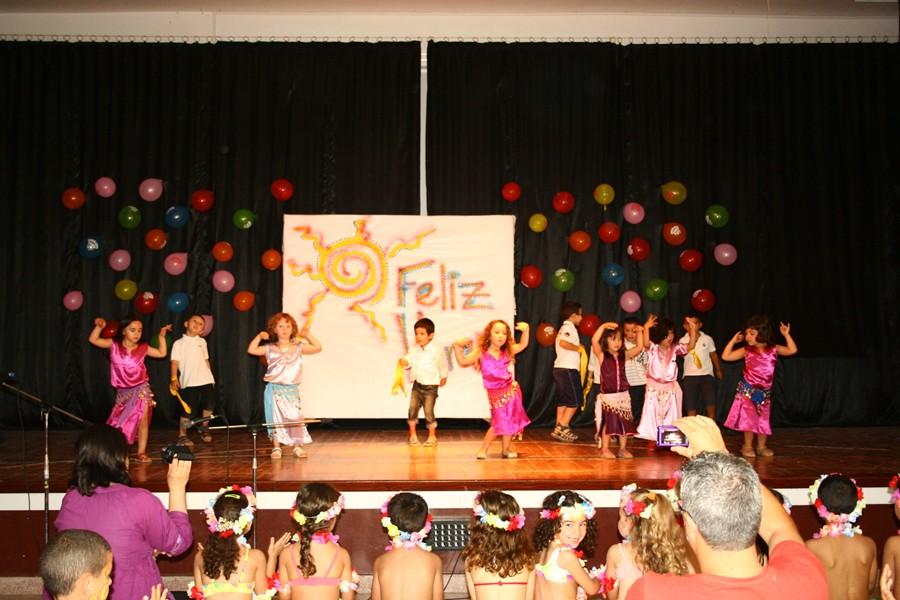 Alhucemas. AAEE: FESTIVAL DE FIN DE CURSO DE INFANTIL Y PRIMARIA