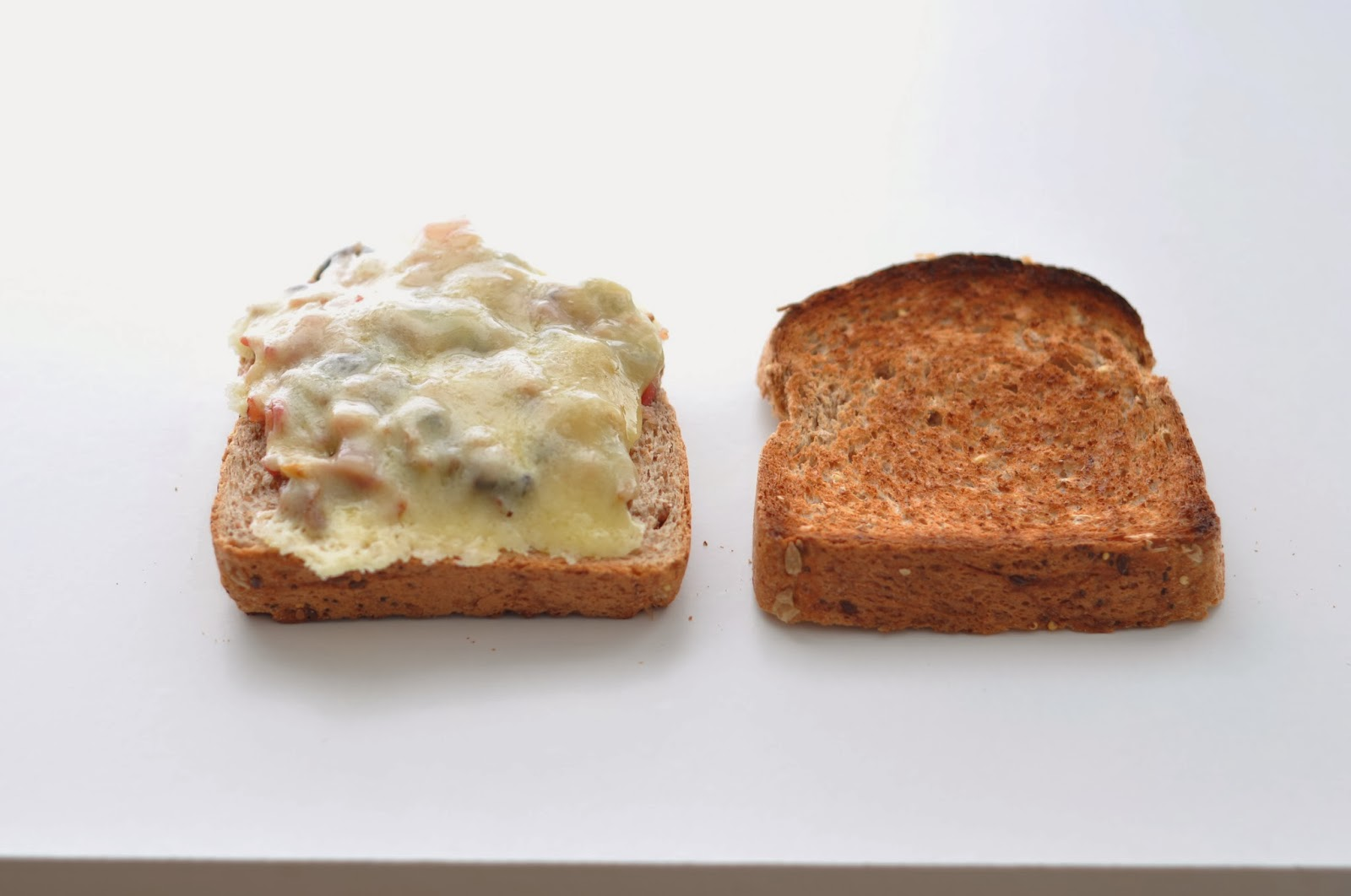 Toasted Breakfast Sandwich Recipe — Dishmaps