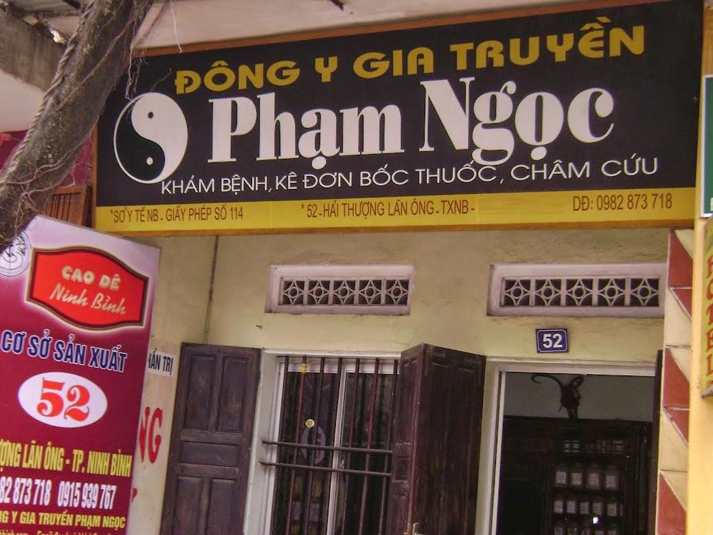 nhà thuốc Đông Y Gia Truyền Phạm Ngọc