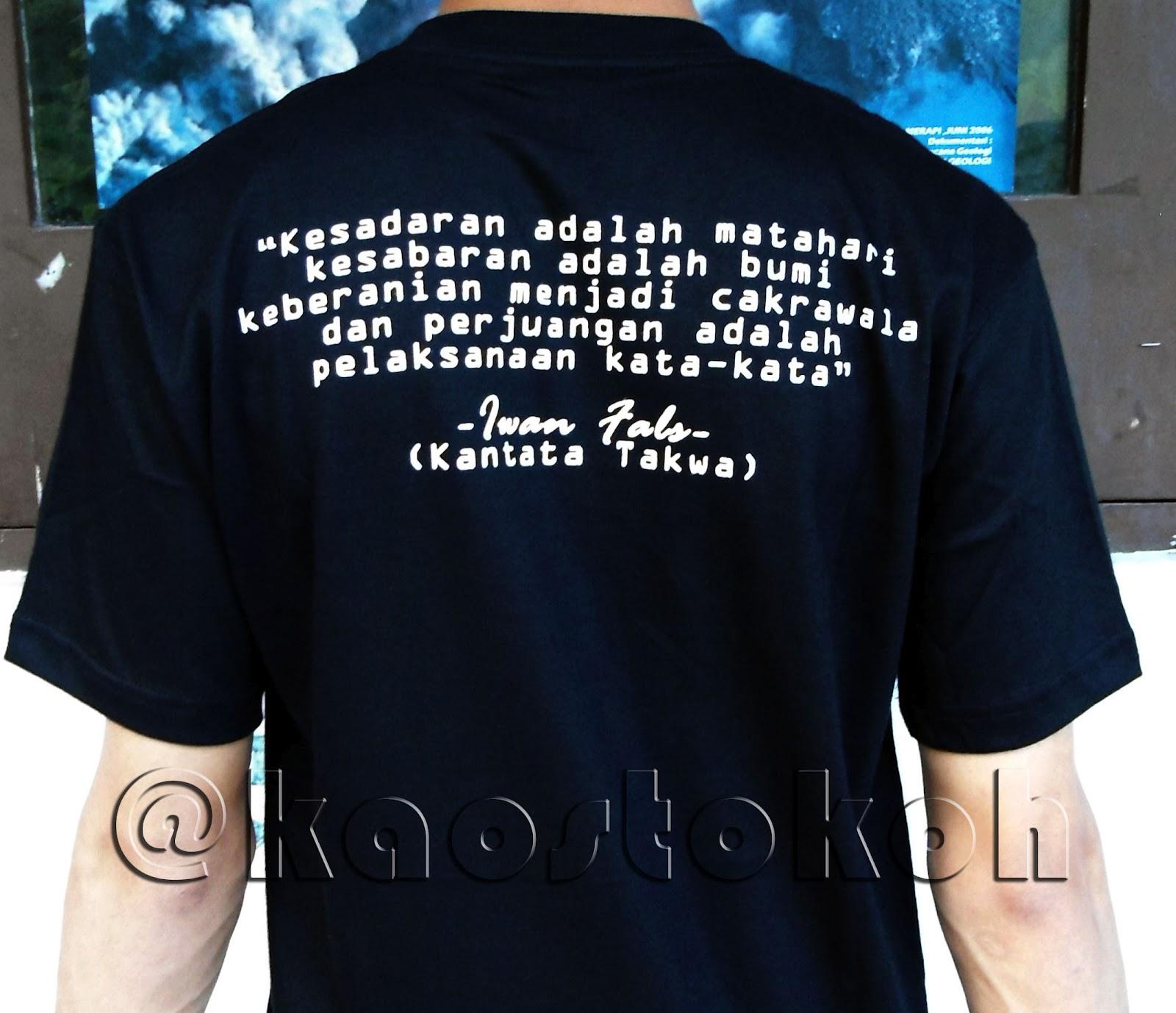 Kaos Iwan Fals | Blog Tokoh Indonesia