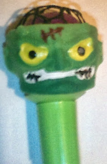 Green monster head pen