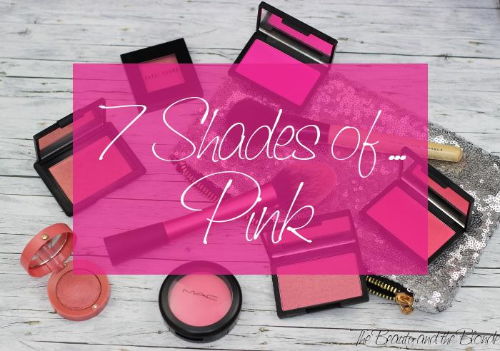 Vorschaubild für 7 Shades of Pink Blushes