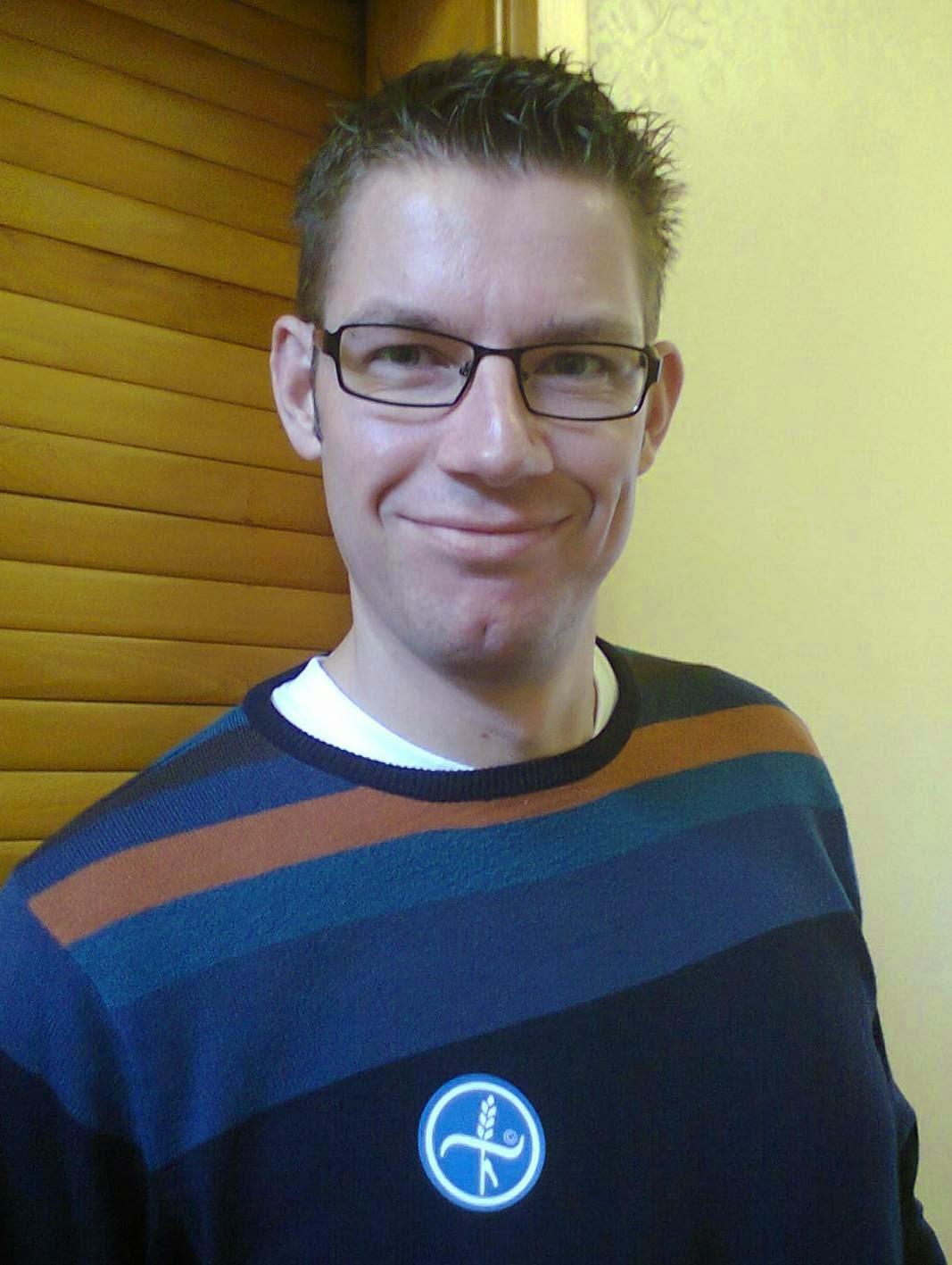 Richard Gottfried - Coeliac. Living gluten free since May 2008