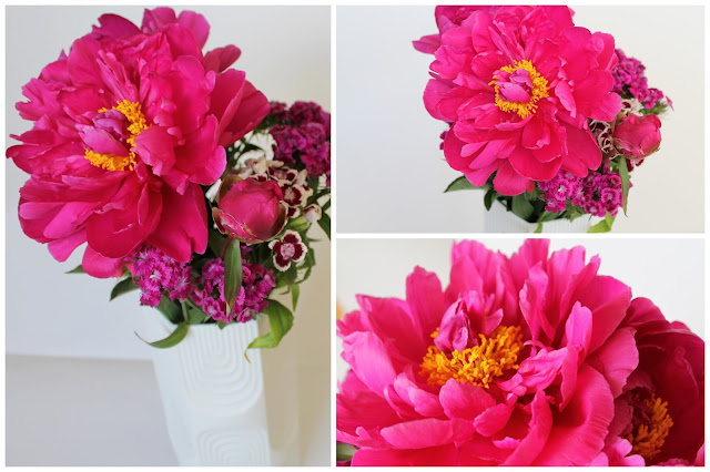 Peonies for #2flowergirls