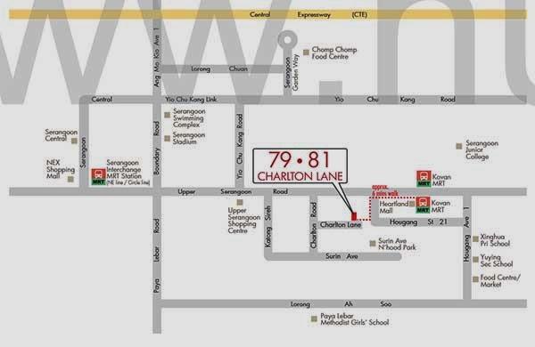 Charlton 18 Location Map