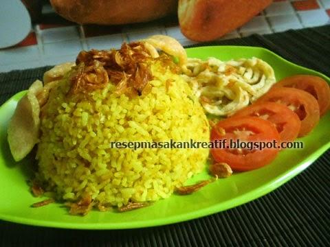 Resep Cara Membuat Nasi Goreng Kuning Kunyit