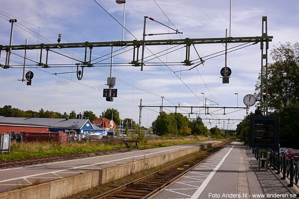Grästorp, Västergötland, Järnvägsstation, railroad, railway, station