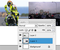 cara membuat dan edit background foto dengan adobe photoshop cs
