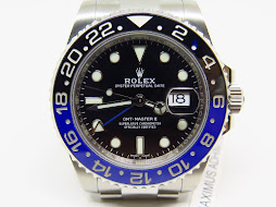 ROLEX GMT MASTER II BLUE BLACK CERAMIC aka BATMAN 116710BLNR - SERIAL RANDOM 2017 - MINTS CONDITION