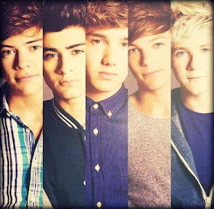 I'm fans of ONE DIRECTION !