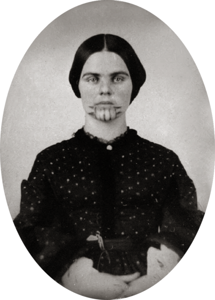 oatman women Indian captive in present-day california olive oatman was a fourteen-year-old girl whose family was killed in 1851 in present-day arizona by native americans.