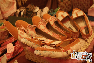 Corusate Unique shoes at Indonesia International SME Exhibition