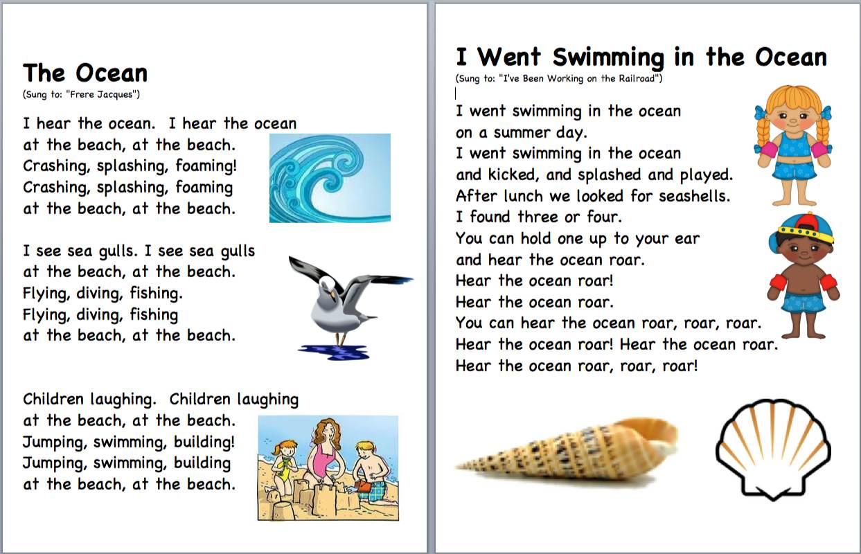 Poems About Summer Beach