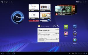 Android Honeycomb versi 3.0.
