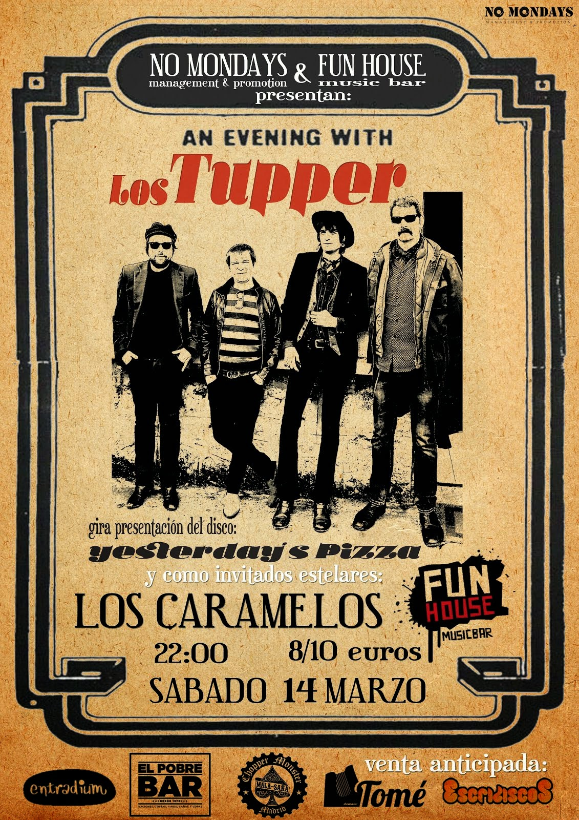 Los Tupper - Fun House (14/03/2015)