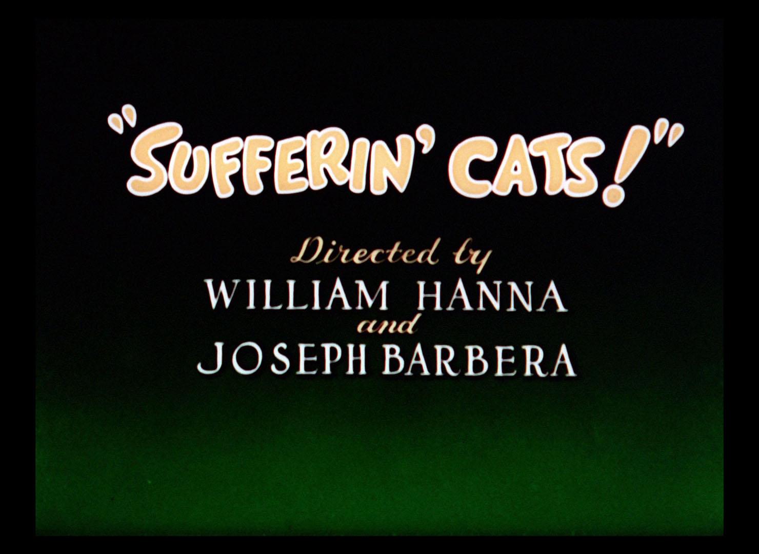 Tom  U0026 Jerry Pictures   U0026quot Sufferin U0026 39  Cats U0026quot