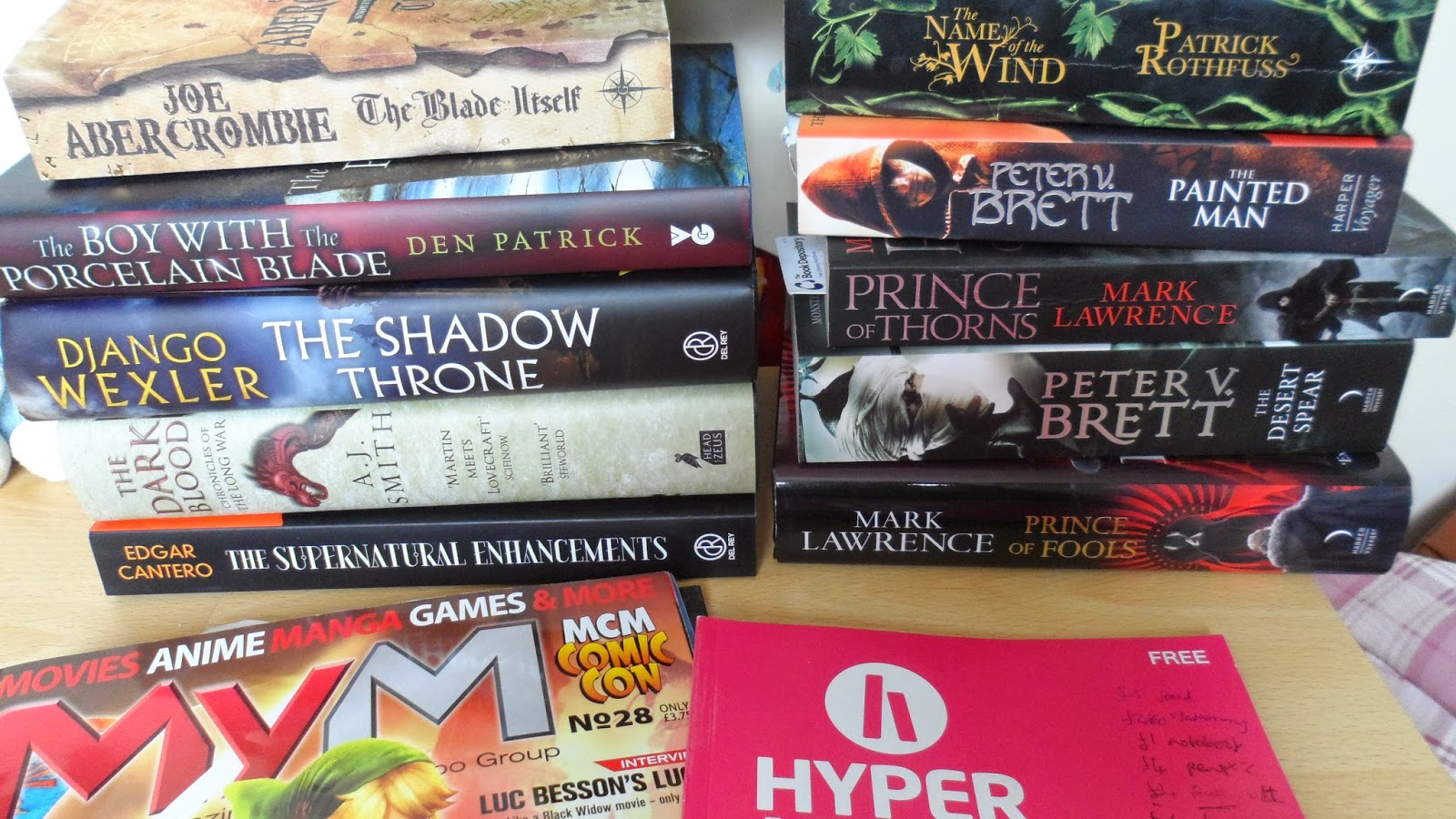 I really want to be a fantasy writer - but -?