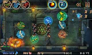 Screenshots of the Lair Defense Dungeon for Android tablet, phone.