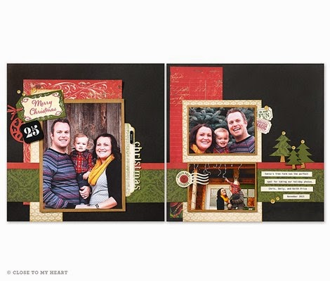 Yuletide Carol Scrap or Card