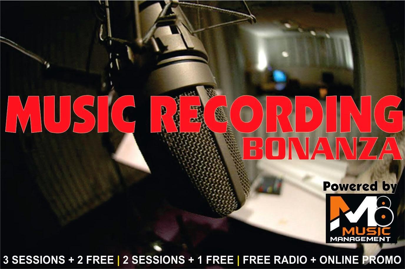 Music Recording Promo
