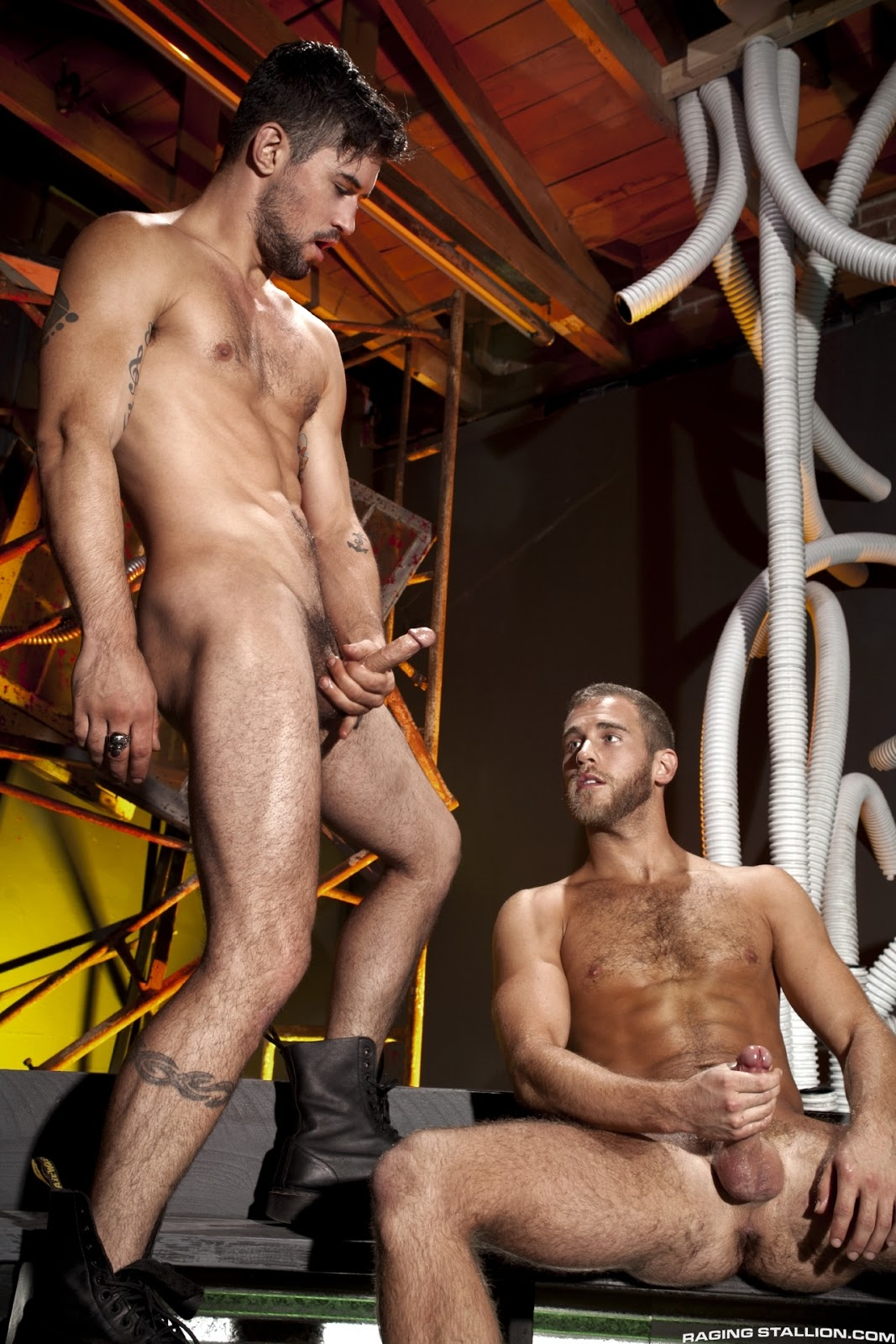 Benjamin godfre and shawn wolfe