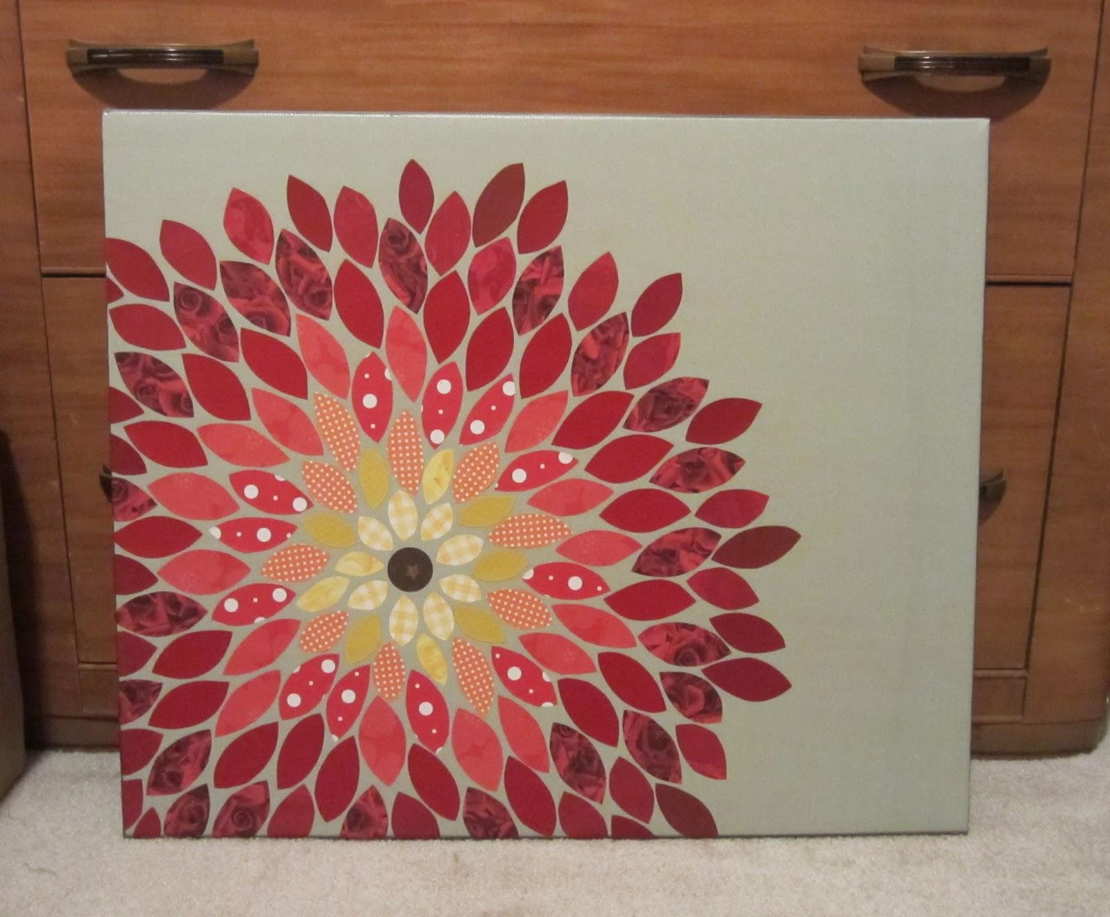 Egret Effects Paper Flower Mosaic