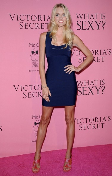 Lindsay Ellingson Bandage Dress