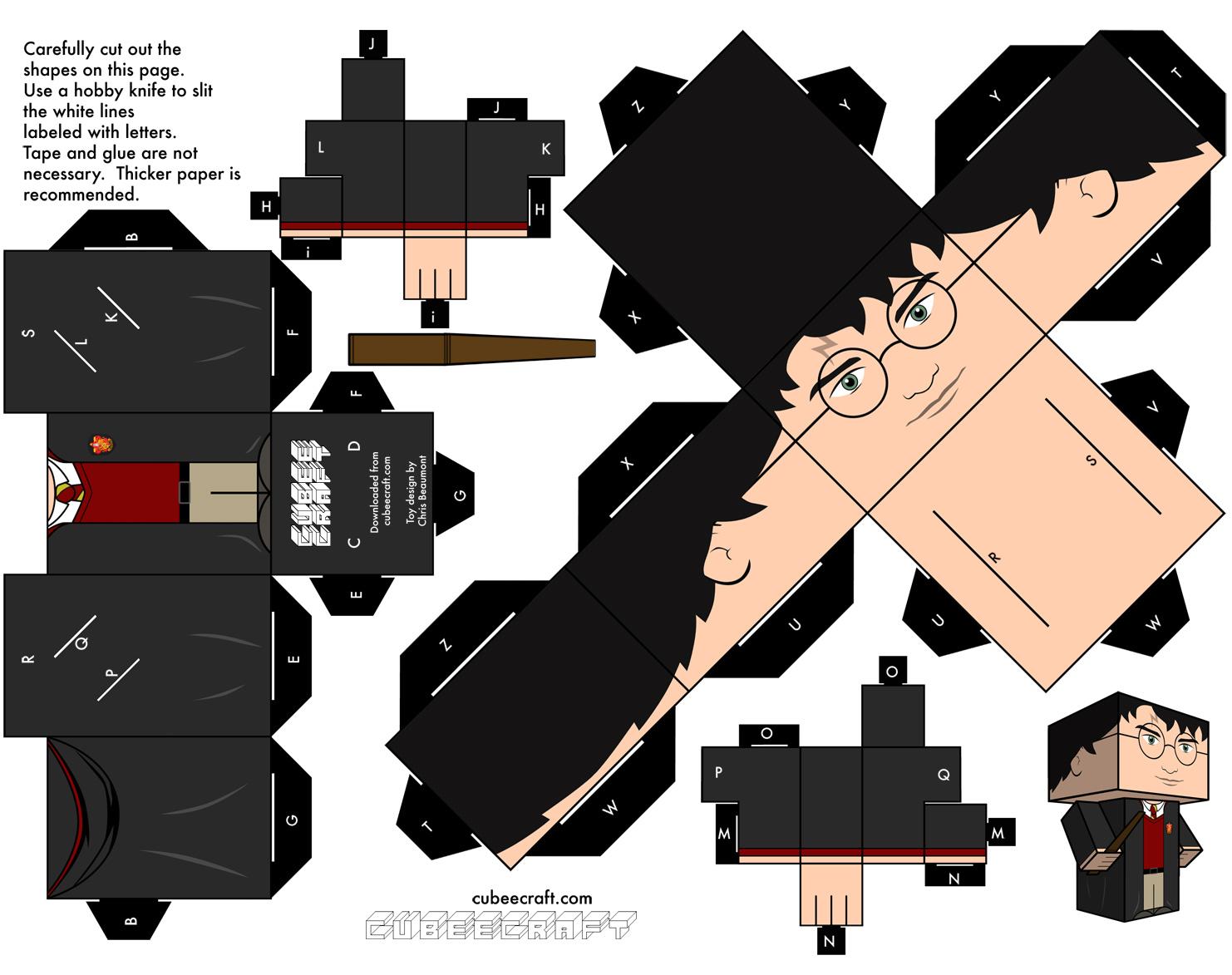 Famosos Disney Papercraft Templates - PaperCraft AJ69